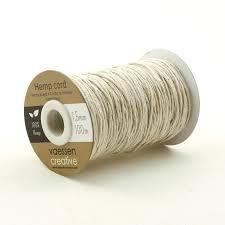 Vaessen Creative • Hemp Cord White 0.8mmx100m