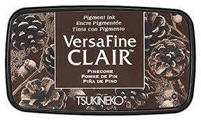 VersaFine clair dark inkpad - Pinecone