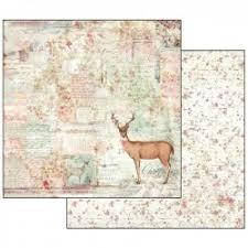 Stamperia - Pink Christmas - Hjort