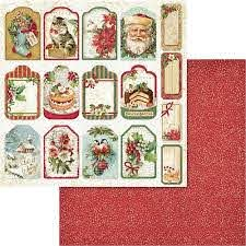 Stamperia  - christmas vintage