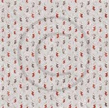Papirdesign -Venter på nissen 12 x 12