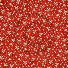 Papirdesign - Røde fine kristorn 12 x 12