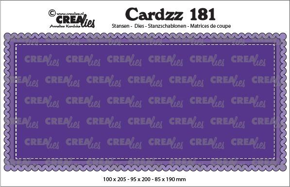 Cardzz dies no. 181, Slimline A