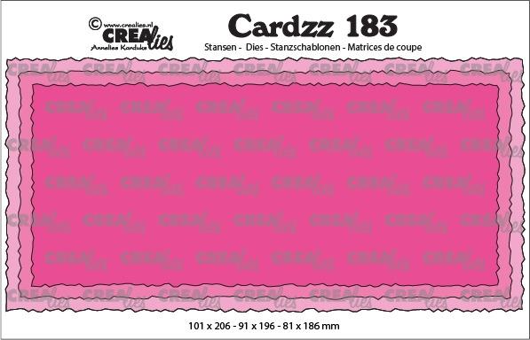 Cardzz dies no. 183, Slimline C