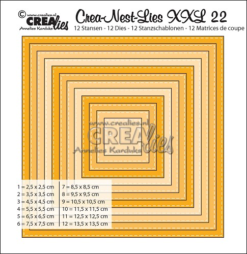 Kvadrat CLNestXXL22