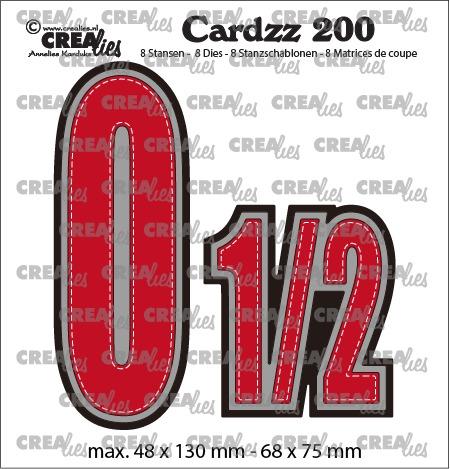 Crealies - 0 og 1/2