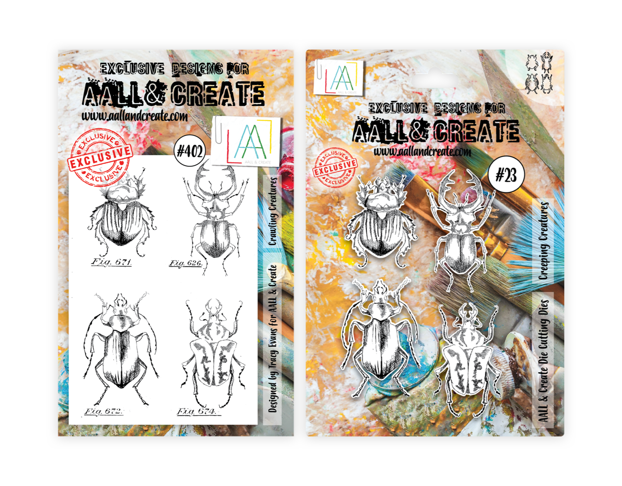 Aall&create - DIES #23 AND STAMP #402