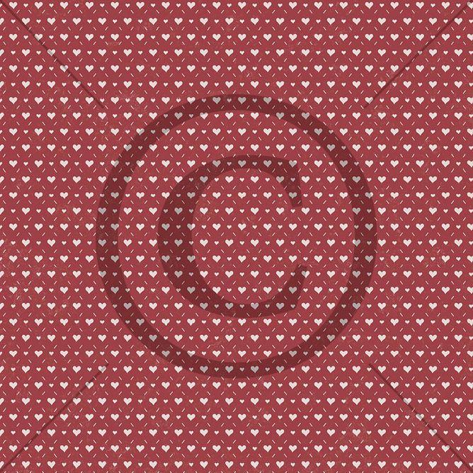 Papirdesign - 12 X 12 -  Mens vi venter - Hjerteklem
