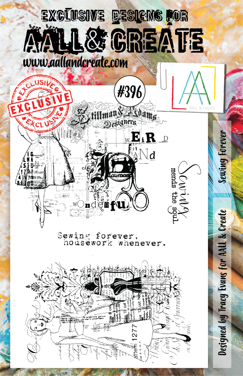 Aall&Create - A5 - #396 - Sewing Forever