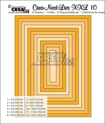 Rektangel CLNestXXL10