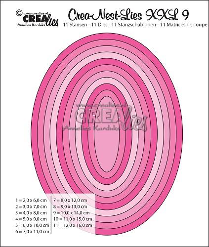 Oval CLNestXXL09