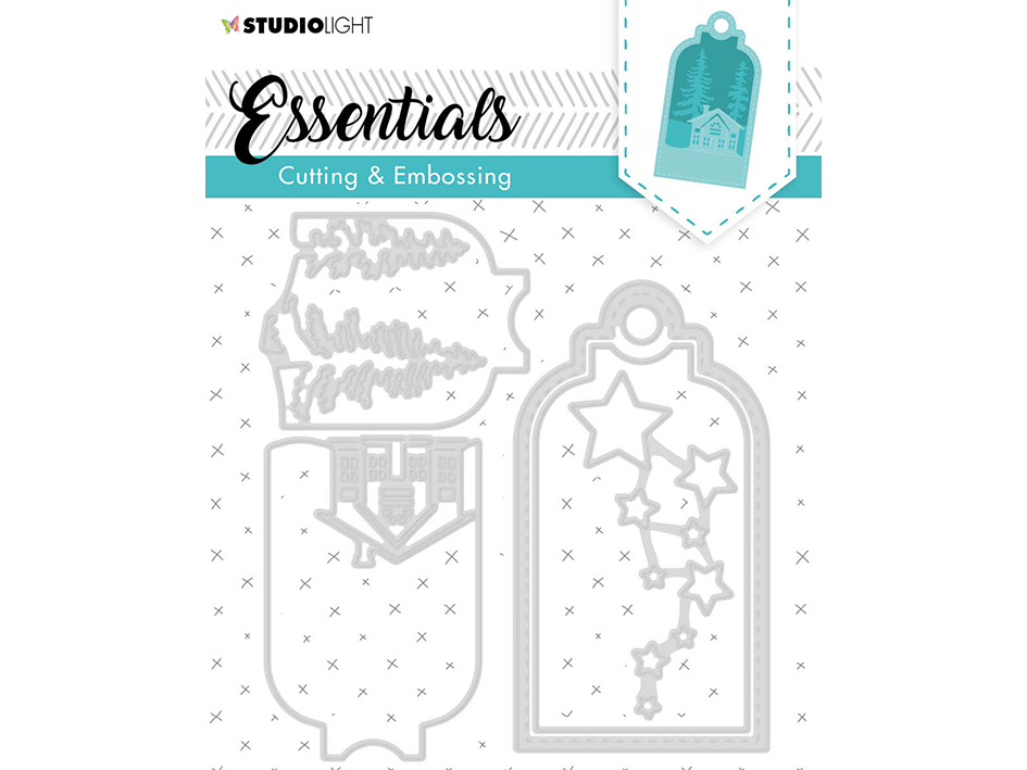 Studio Light Embossing Die Cut Essentials no.320
