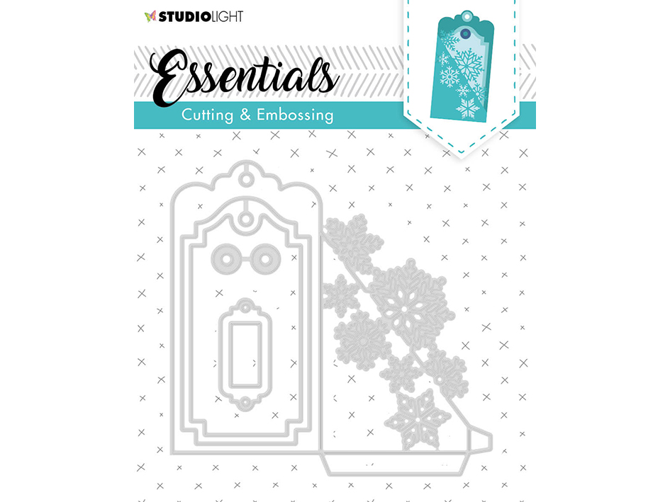 Studio Light Embossing Die Cut Essentials no.318