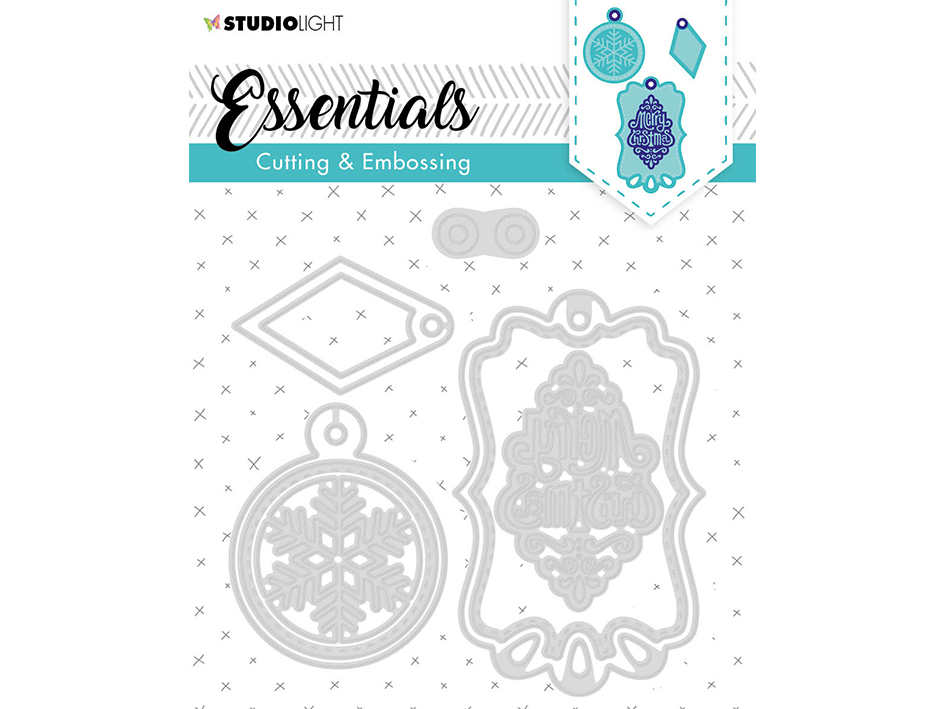 Studio Light • Embossing die cut Essentials nr.321