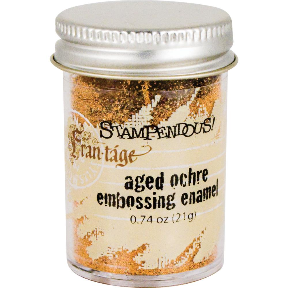 Stampendous Frantage Aged Embossing Enamel - Ochre