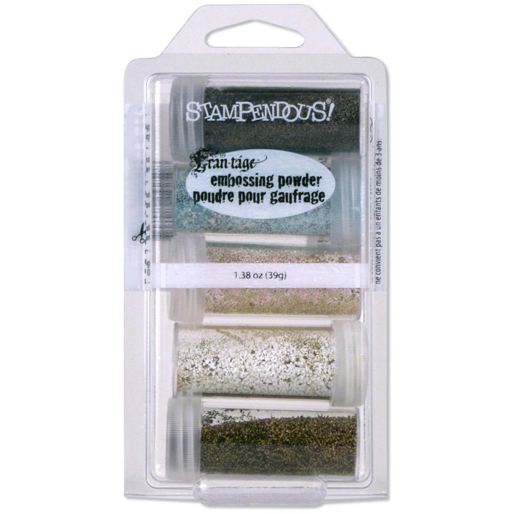 Stampendous Vintage Embossing Powder 5/Pkg