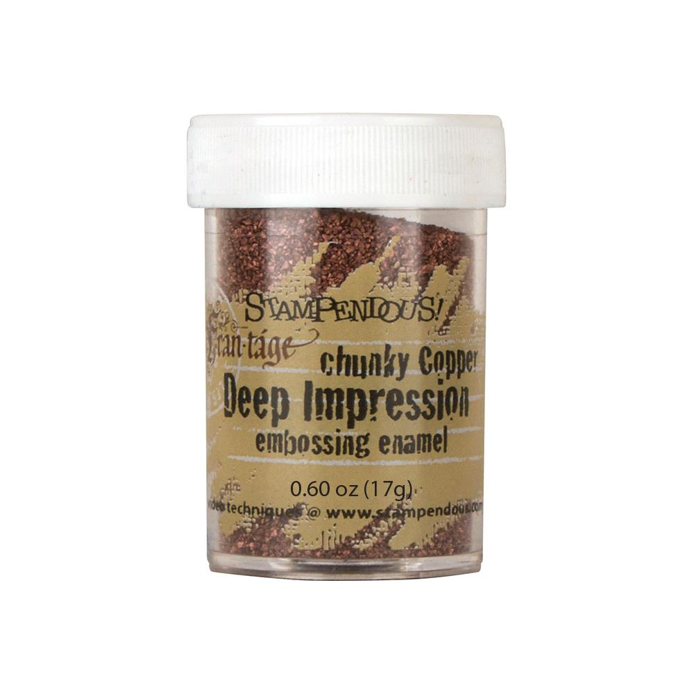 Stampendous Frantage Deep Impression Embossing - Chunky  copper