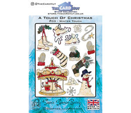 A touch of christmas - Stempel  - A5