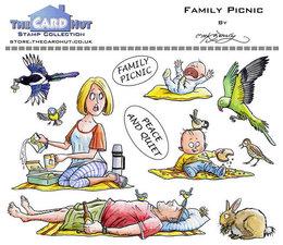 Family Picnic - Stempel