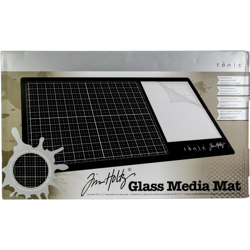 "Tim Holtz Glass Media Mat 23.75""X14.25"""