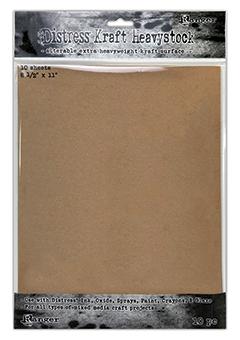 DISTress HEAVYSTOCK - KRAFT 8.5 x 11, 10PK
