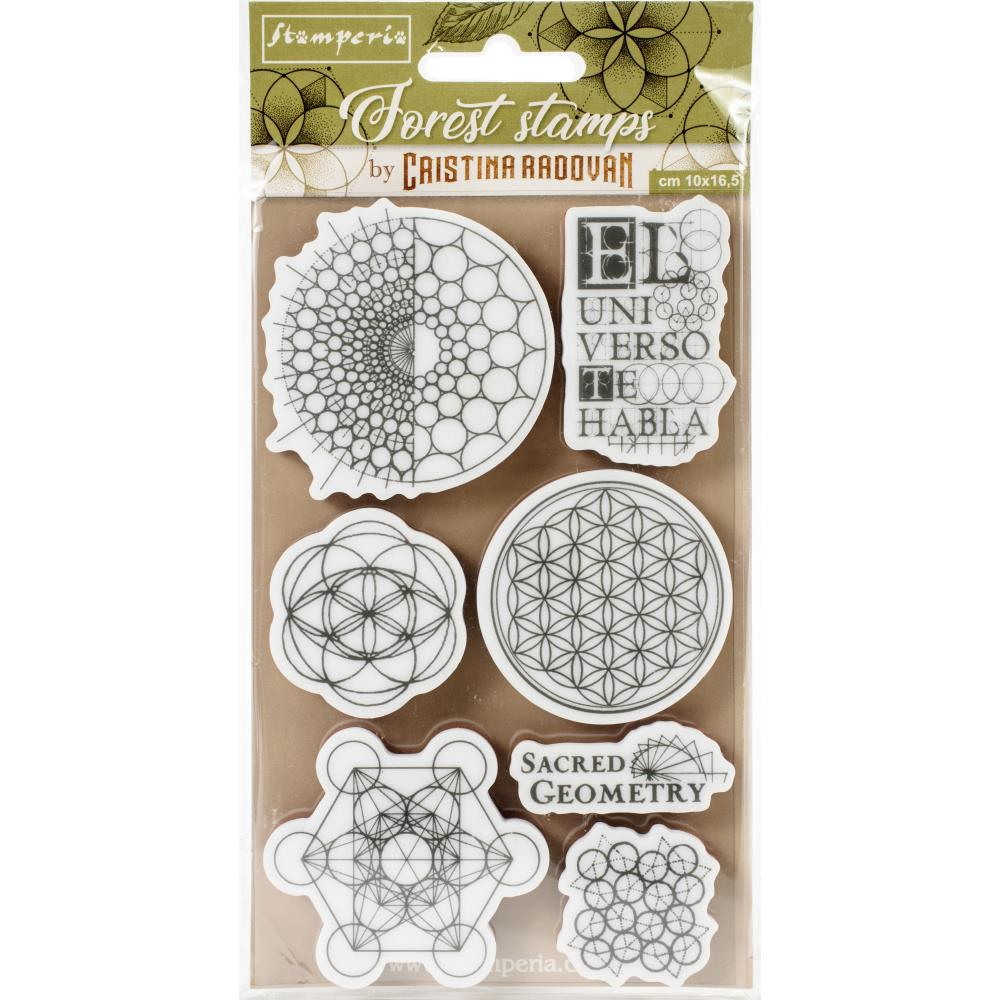Stamperia  -  Sacred Geometry - Cling Stempel -