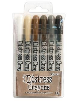 DISTRESS CRAYONS - SET 3
