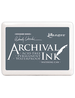 Archival ink-WATERING CAN