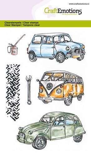 CraftEmotions - clearstamps A6 - Classic Cars 1