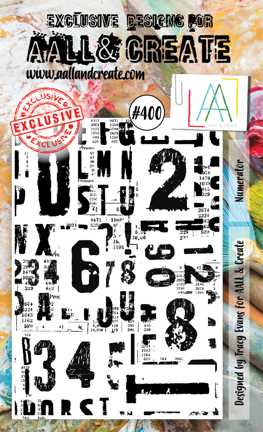 AAll&create - A6 STAMPS - Numerator - #400