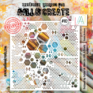 AAll&Create-  - #112 - 6'X6' STENCIL -