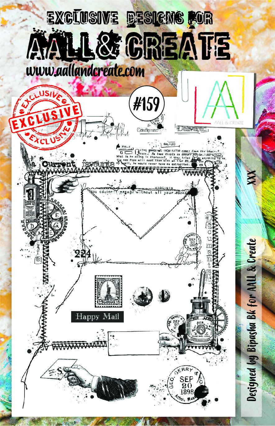 Aall&Create - A5 - #159 - Mail Art