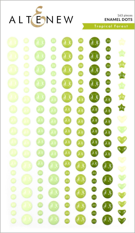 Altenew - Tropical Forest Enamel Dots