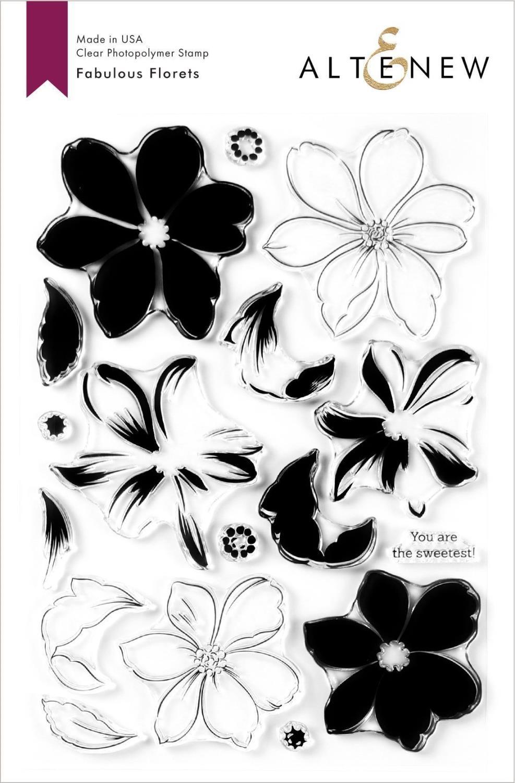 Altenew - Fabulous Florets- stempel og dies