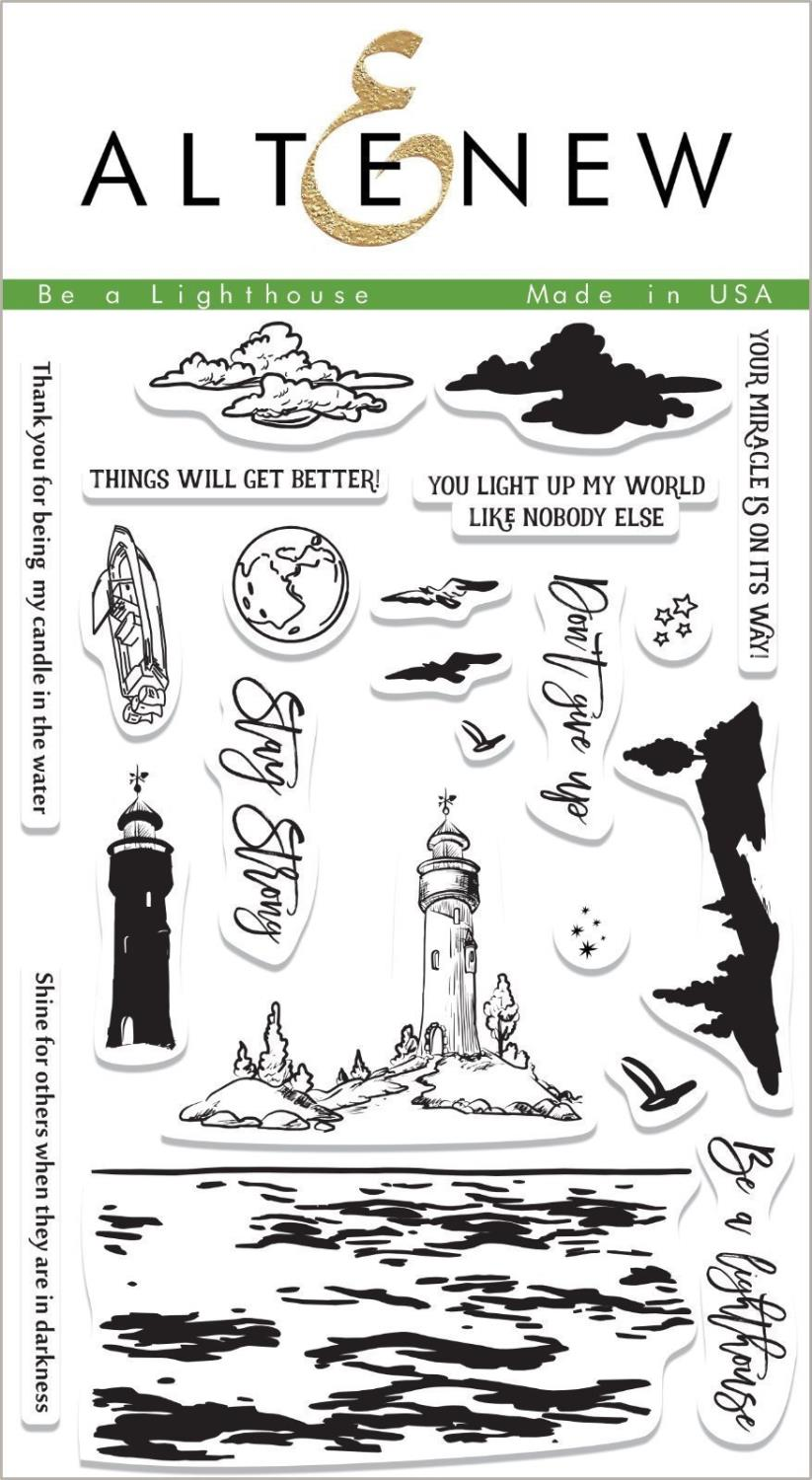 Altenew -Be a Lighthouse Stamp