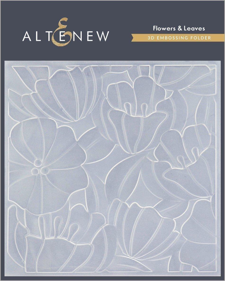 Altenew - Flowers & Leaves 3D Embossing Folder