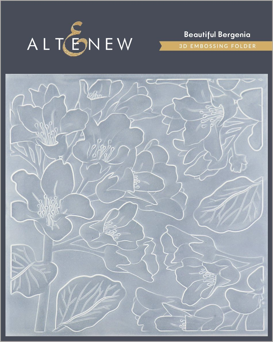 Altenew - Beautiful Bergenia 3D Embossing Folder