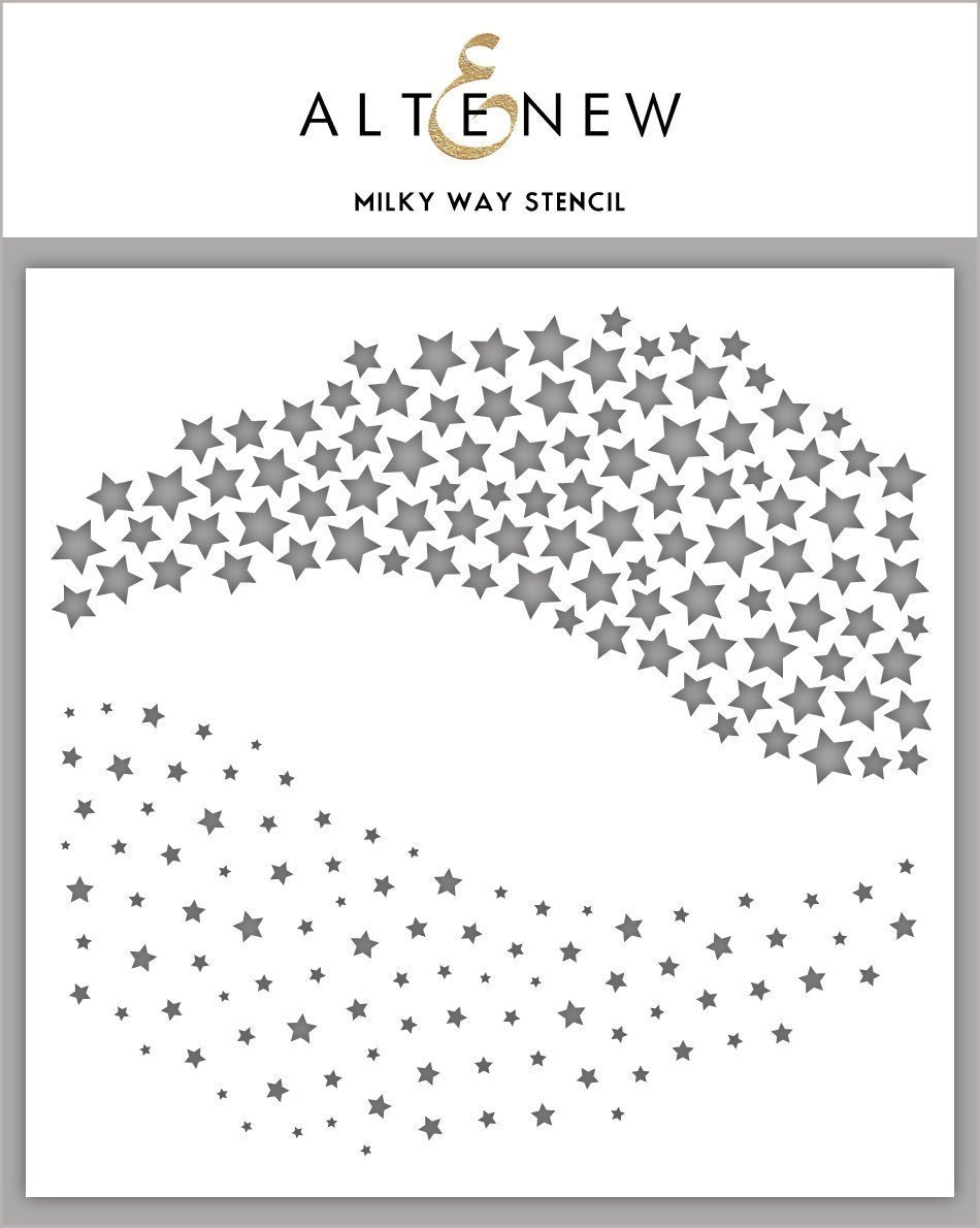 Altenew - Milky Way Stencil