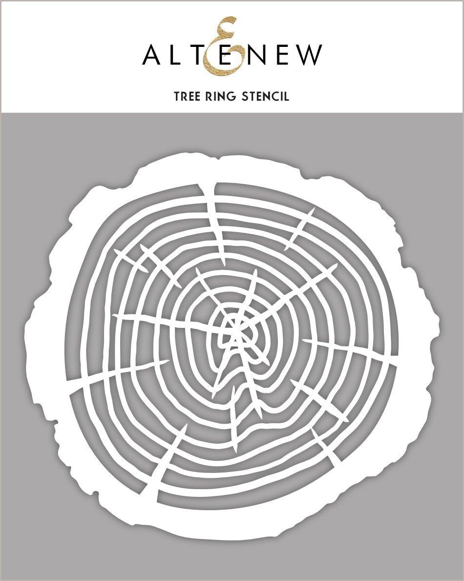 Altenew - Tree Ring Stencil