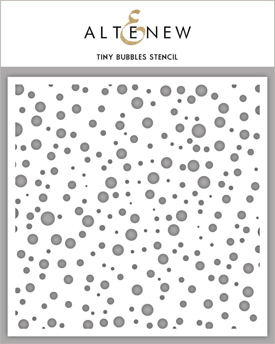 Altenew - Tiny Bubbles Stencil