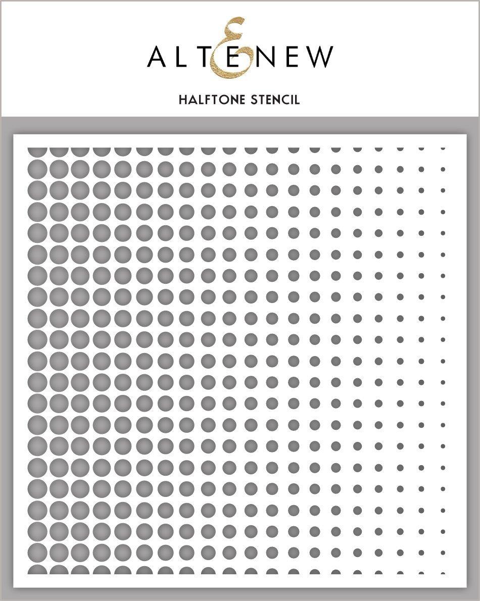 Altenew - Halftone Stencil
