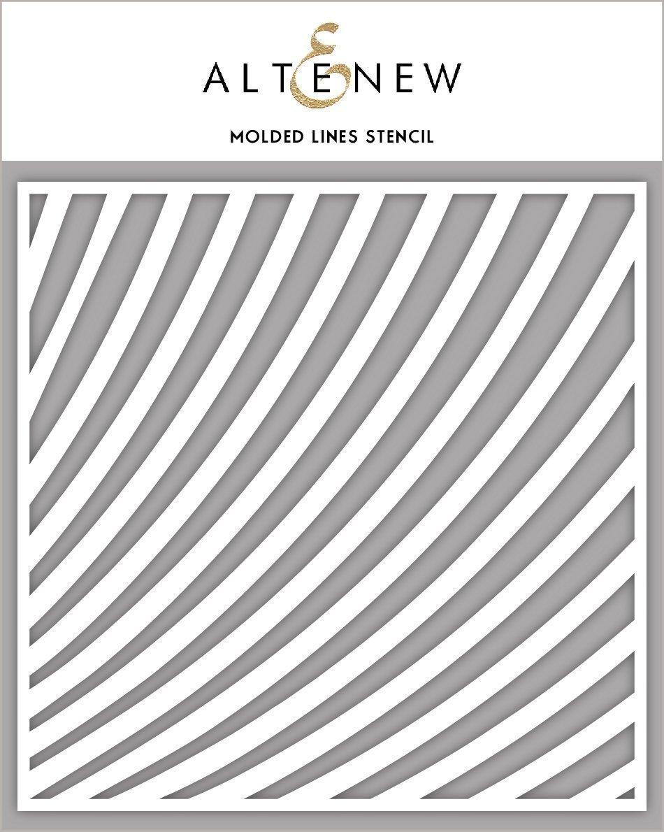 Altenew - Molded Lines Stencil