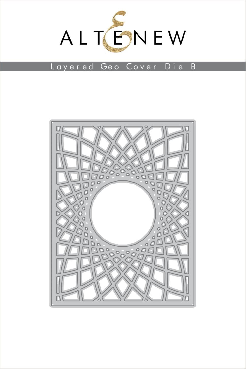 Altenew - Layered Geo Cover Die B