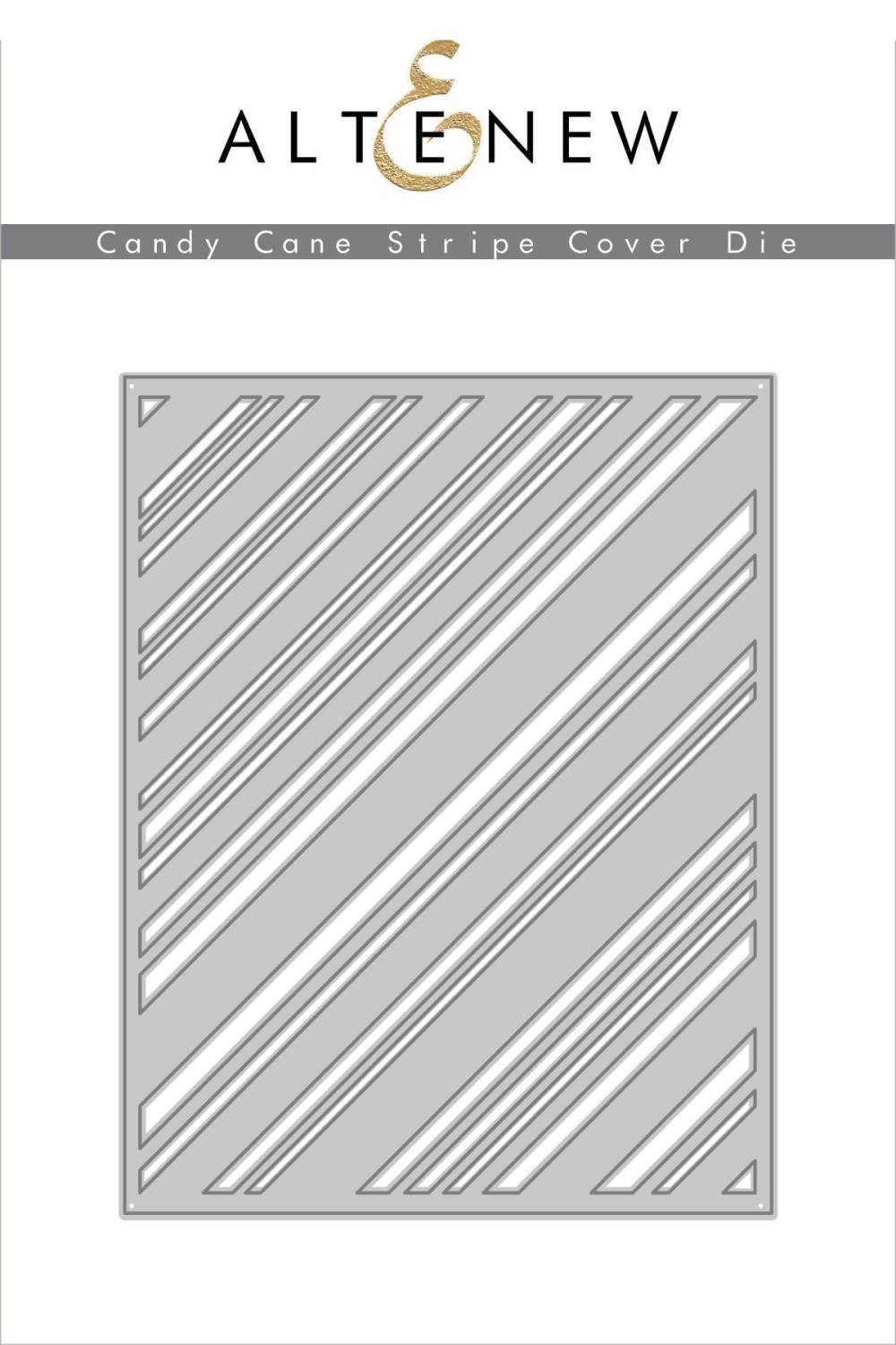 Altenew - Candy Cane Stripe Cover Die