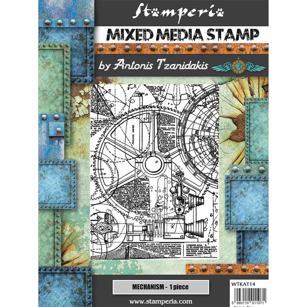 Stamperia  - Mechanism -  Stempel - Steampunk