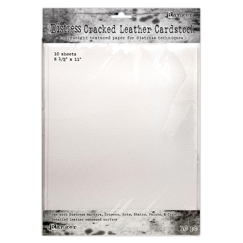 Ranger • Tim Holtz distress Cracked leather Cardstock