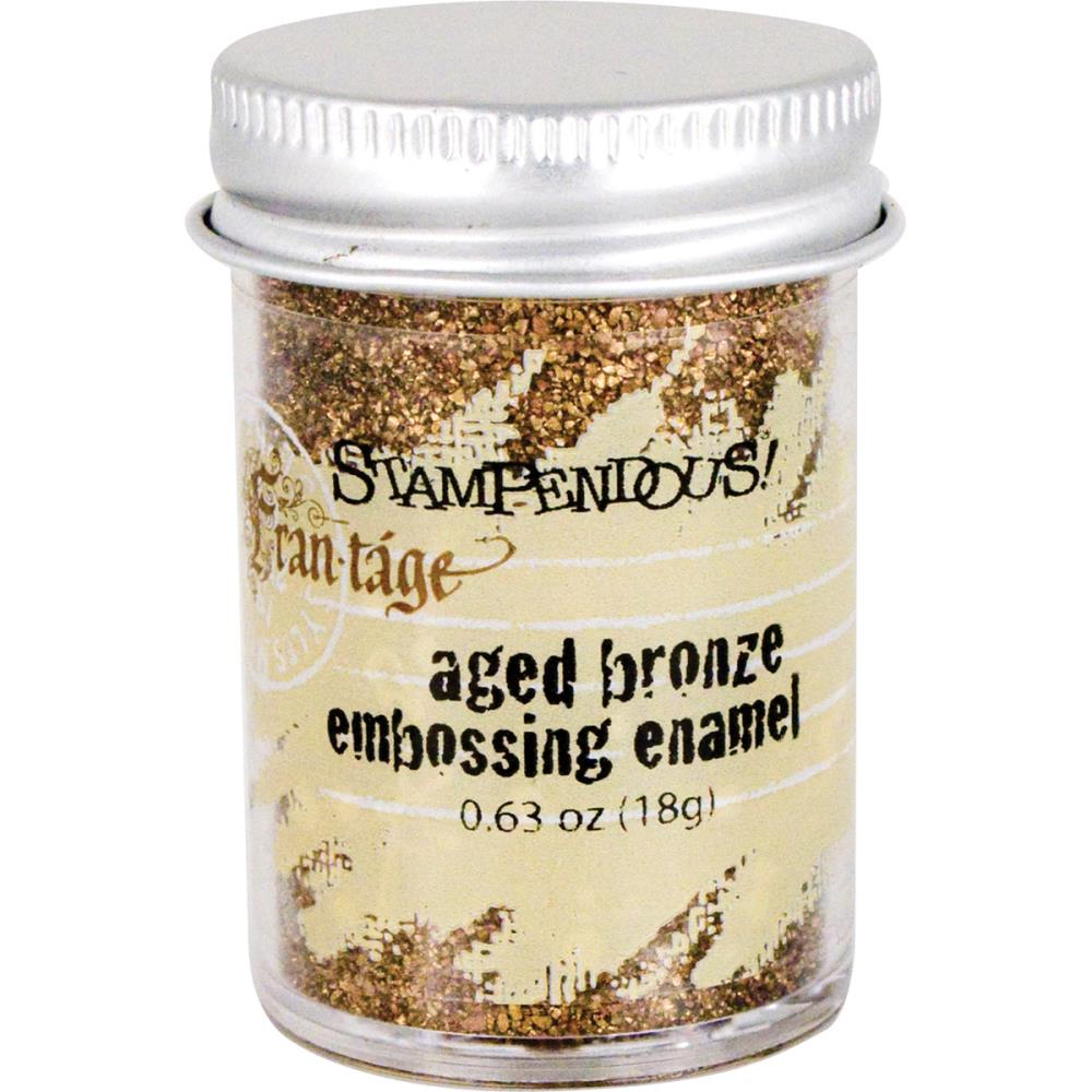 Stampendous Frantage Aged Embossing Enamel - Aged Bronze