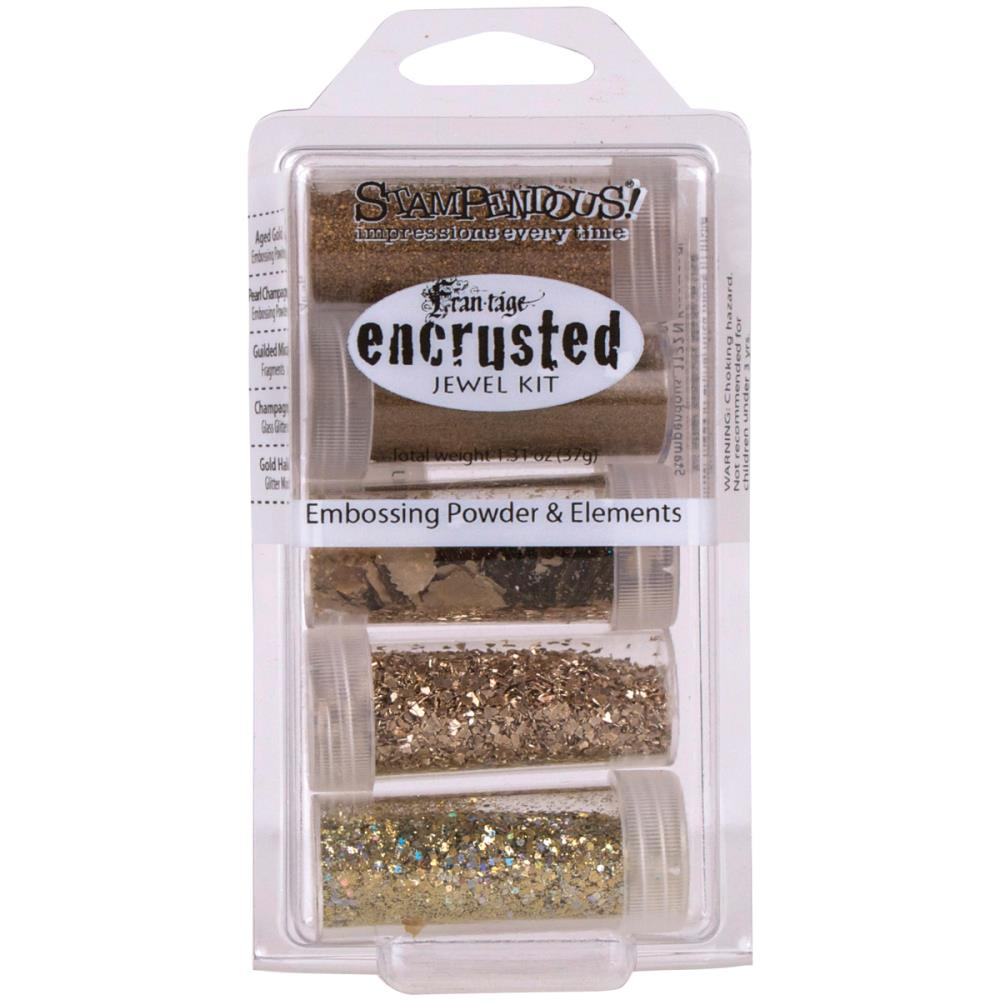 Stampendous Encrusted Jewel Embossing Powder & Elements
