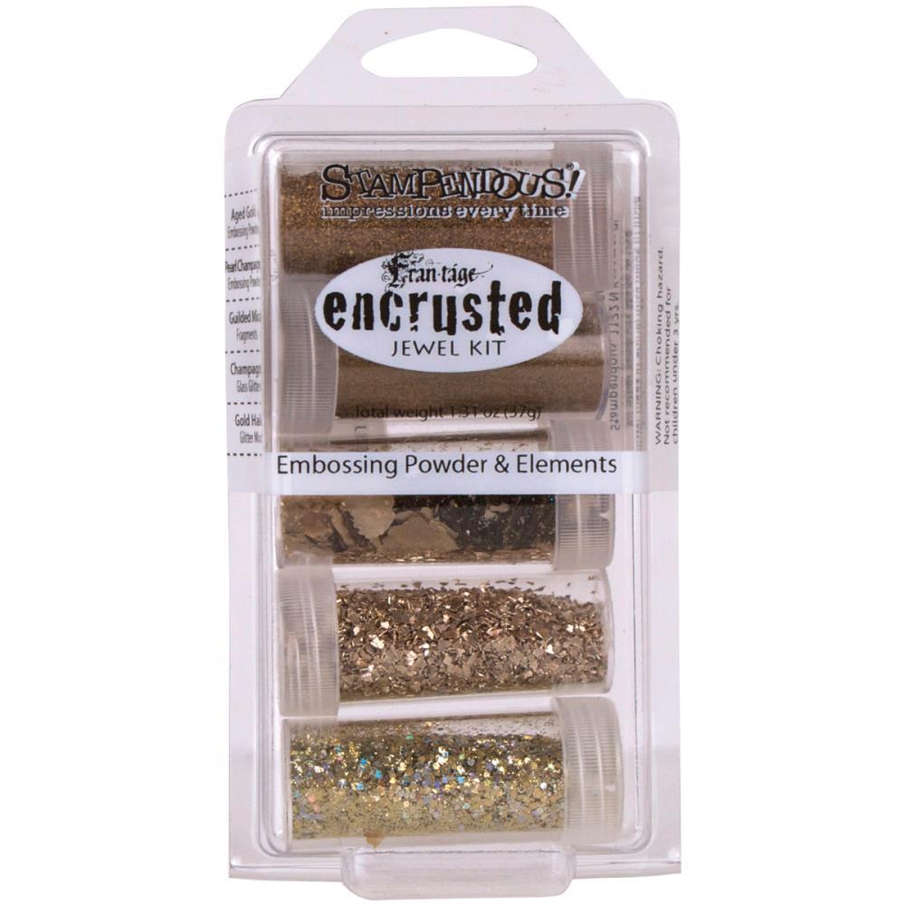 Stampendous Encrusted Jewel Embossing Powder & Elements
