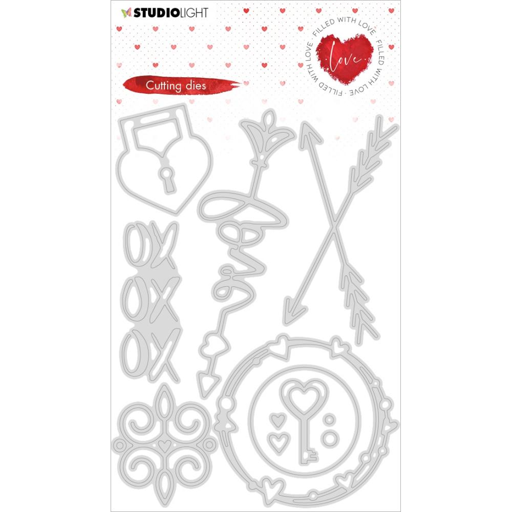 Studio Light Filled With Love Cutting Die - NR. 352